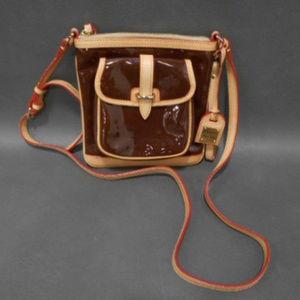 Authentic Dooney & Bourke Brown Tan Purse Handbag